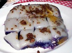 Filipino delicacy: Sapin-sapin
