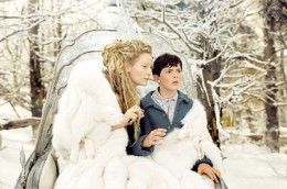 Edmund is tricked by the White Witch