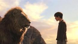 Aslan forgives Edmund