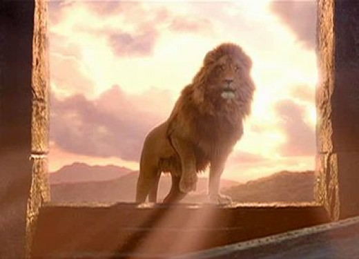 The resurrection of Aslan