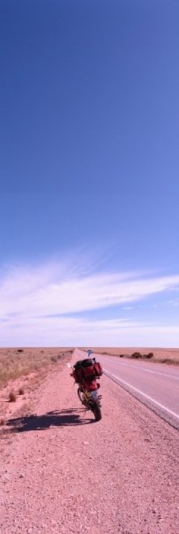 The Nullarbor - a treeless expanse of desert in Australia the size of Britain. It's the place on earth where I feel most myself.