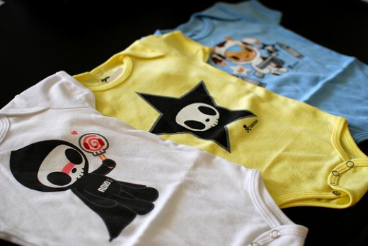 tokidoki onesies photo by geishabot on flickr