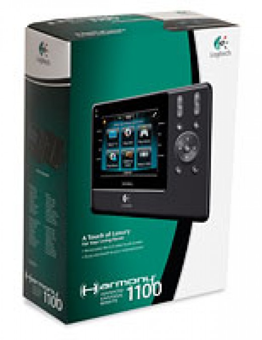 Your Logitech Harmony 1100 Universal Remote Pack!