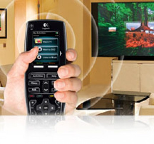 Latest RF technology of Harmony 900 remote