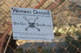 Old gold, silver, and copper mines are fascinating to explore, but they can also be deadly.