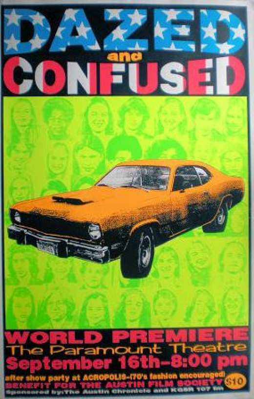 The famed (and rare) Dazed and Confused Kozik poster