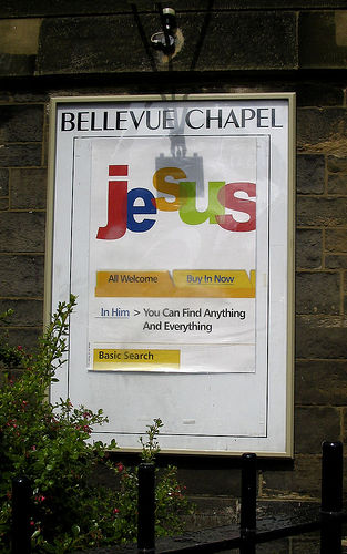 ...churches assume passers-by know your brand and what your business does!