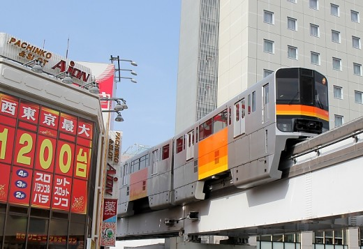A great way to get to Tama is to take the amazing Tama Monorail from Tachikawa to Tama Center