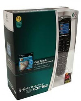 Your Logitech Harmony One Remote Pack at Amazon