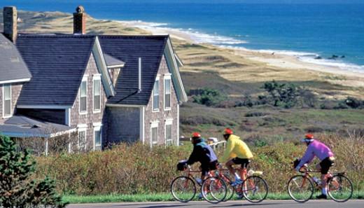 Biking Martha's Vineyard