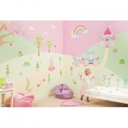 Princess wall stickers and decals add a special touch to any princess themed room!