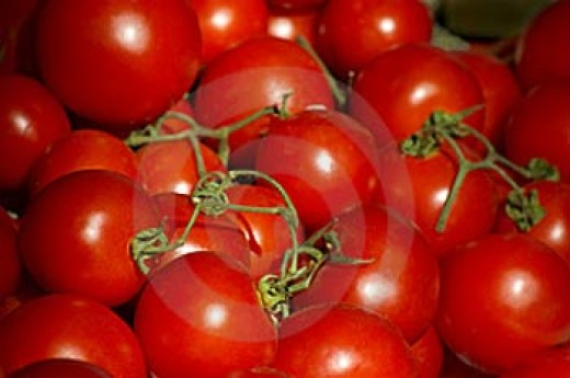Few things beat a fresh and ripe tomato as either a main ingredient or a garnish to a salad.