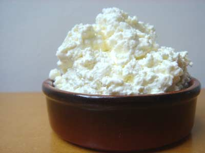 Cottage cheese also forms a good salad base in which all kinds of things can be mixed.