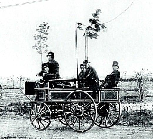 Primeiro carro elétrico