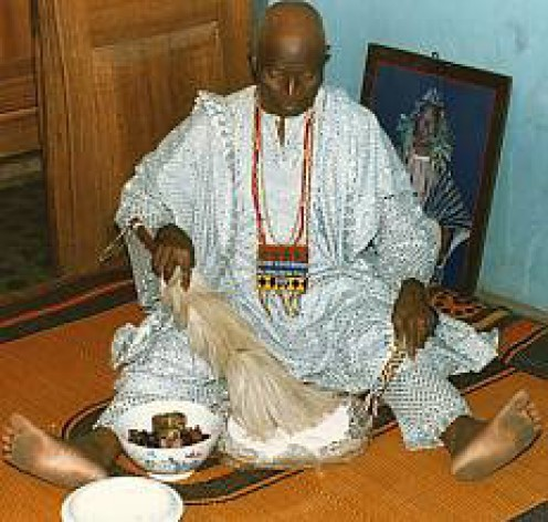 Yoruba native doctor and priest.