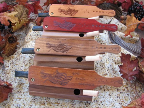 Four Star Combo Call comes in many different wood options