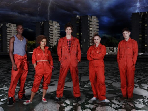 Misfits, an E4 drama of 5 superpowered misfits.