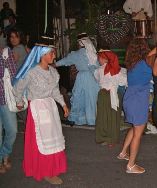 Dancers at the fiesta