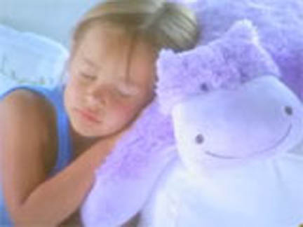Kids love sleeping with Pillow Pets!