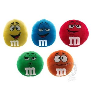 M&MS Candy Pillows