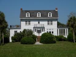 The Pierce Butler Plantation house
