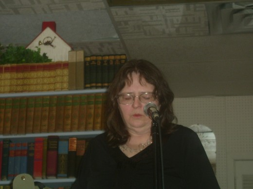 A very emotional poetry reading at Brenner's Brew in Bridgeton, NJ.