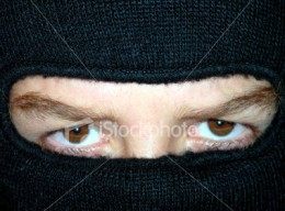 Is this a Black Bloc anarchist, a Muslim female or a poverty activist. From this photo, it is hard to tell, but the hiding of the face is grounds for many to profile the person as a terrorist.
