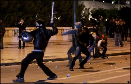 """These """"Black Bloc"""" anarchists were recently active in the Toronto G8 Summit. They appear very well dressed for people in poverty."""