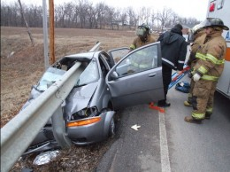 MVA Involving Drunk Driver
