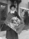 Edith Ainge protester and part of the National Women's Party