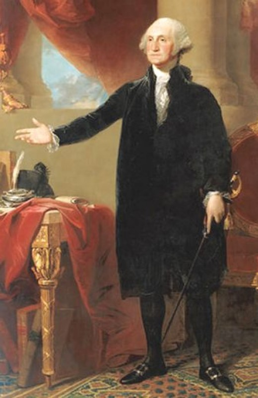 George Washington. Traitor posing as a liberator.