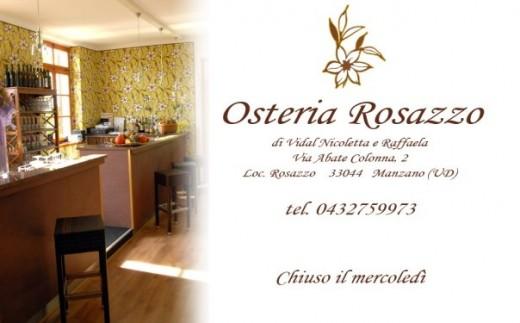 Osteria Rosazzo Manzano