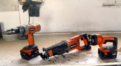 Dewalt, Ridgid and Milwaukee Cordless Drill and Sawzall Kits Compared