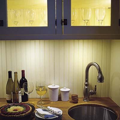 Interior-Lit Cabinets