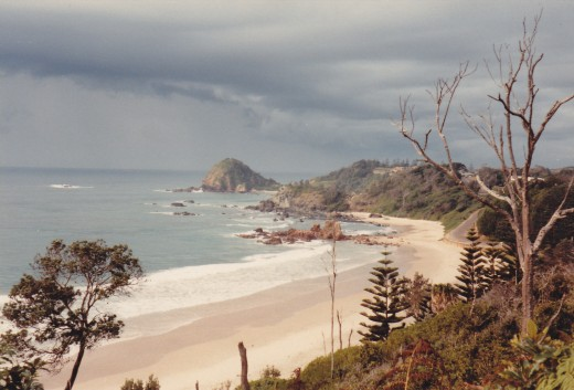 Flynn's Beach, Port MacQuarie, NSW, Australia in 1982