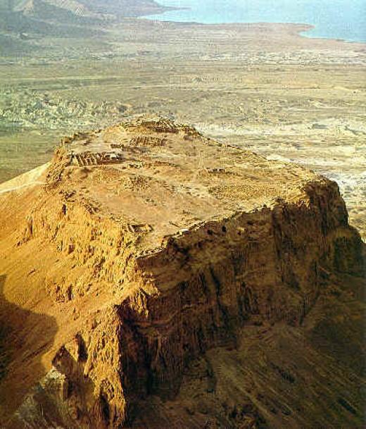 Fortress at Masada