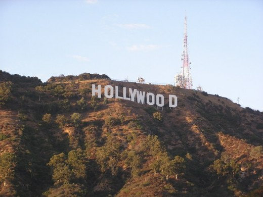 Hollywood, California. Copyright Tia D. Peterson. May not be re-used without permission.