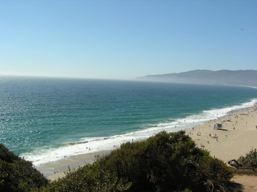 Point Dume, Malibu, California. Copyright Tia D. Peterson. May not be re-used without permission.