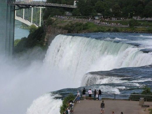 Niagara Falls, New York. Copyright Tia D. Peterson. May not be re-used without permission.