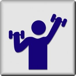 AAAWWWWW the gym, nothing like a little grunting, a lot actually, and lifting to help manage anger.