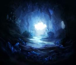 Crystal Cave 2 by =firedudewraith (DeviantART)
