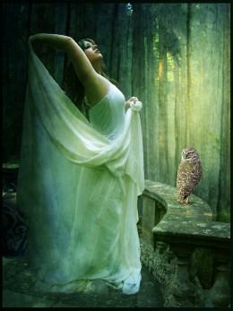 Athena, Goddess of Wisdom by *violscraper (DeviantART)