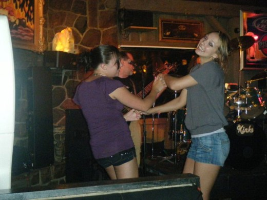 My Daughter and her friend Dancing Photo: Darlene Yager