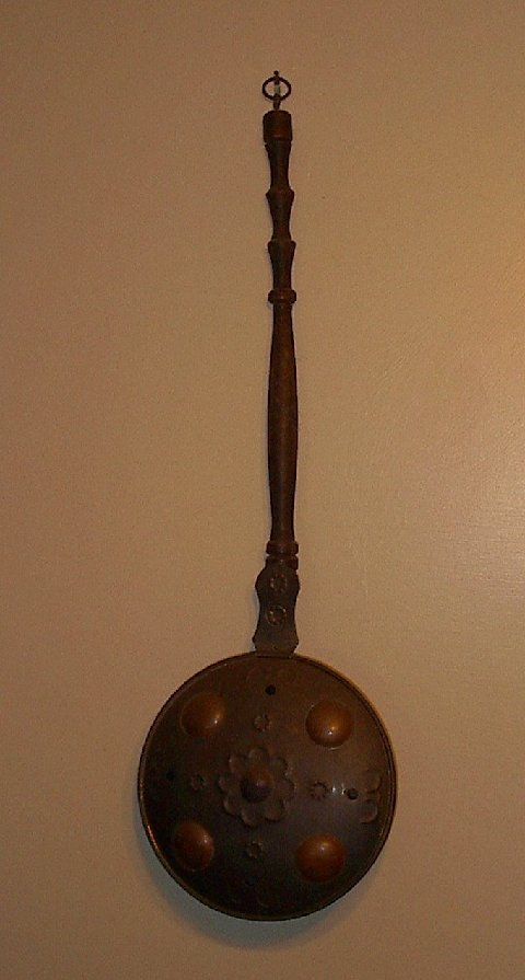 An antique bed warmer. It even looks like a skillet, doesn't it?