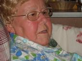 Mom's last picture, she had a smile always!