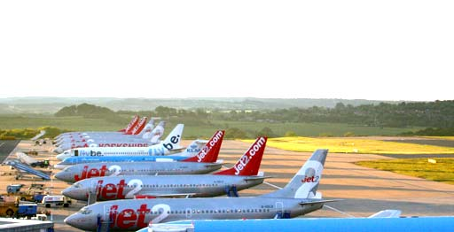 Aircraft from Jet2.com Airlines