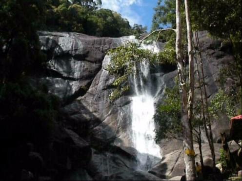 Telaga Tujuh Waterfall