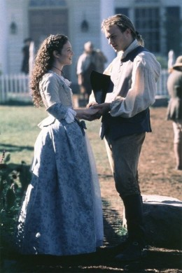 "The young hero and heroine from the 2000 film ""The Patriot"""