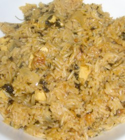 How to make Paneer Pulao - Pulav Recipe and Preperation