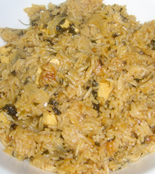 Paneer Pulao Recipe - Ingredients and Method of Preparation